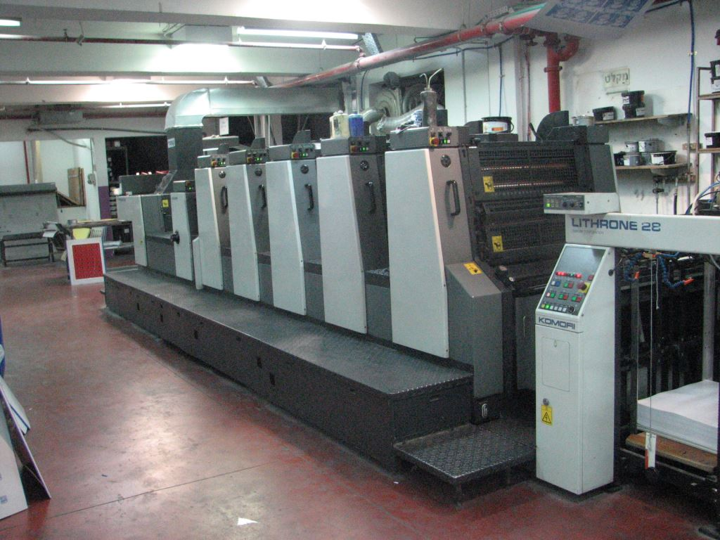 Komori  L528+C-EM UV press 1998