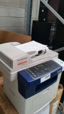 3#2602 B & W Xerox WorkCentre 3550 printer