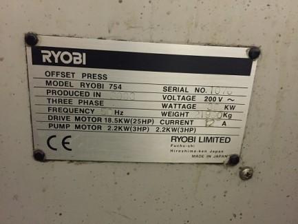 754 + Coater Ryobi