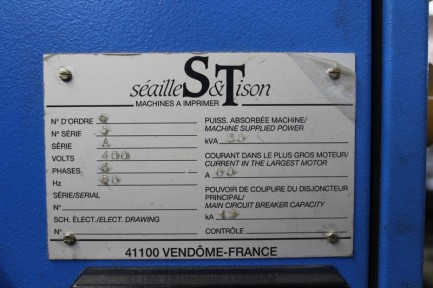 Seailles et Tison Sprint 1600 (1#3985) Seailles& Tison