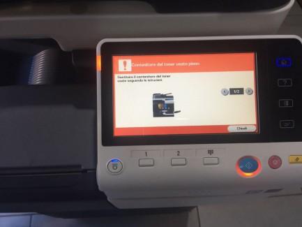 1#2854 Konica Minolta C3350 Printer Konica