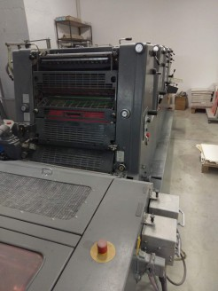 GTO 52-4 waterless UV Heidelberg