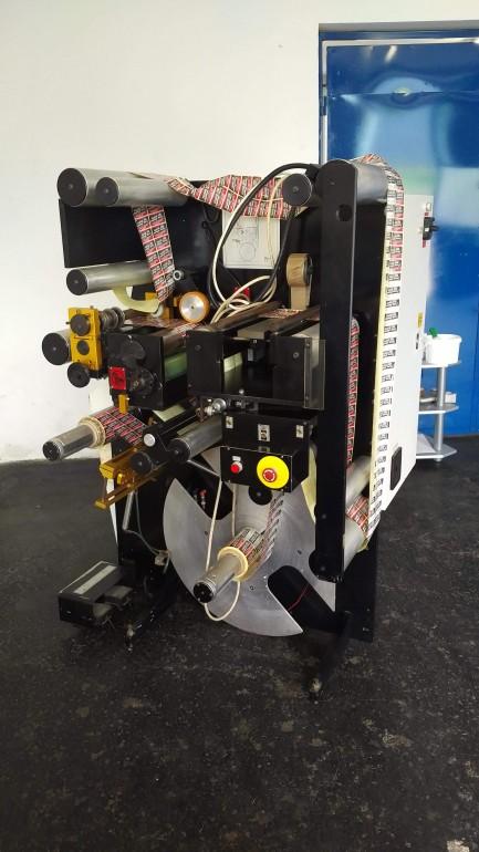 VSI 330 Label inspection machine Slitter and rewinder Rotoflex