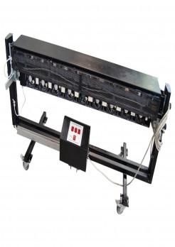 Uscator cu lampi IR si ventilatoare pentru uscarea continua a materialelor printate cu solvent Elektro Produkt