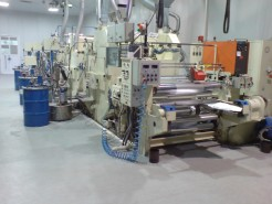Machine for lacquering of aluminum foil Kroenert