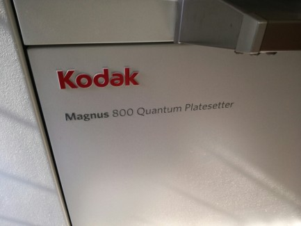 Magnus 800 Quantum Platesetter Kodak