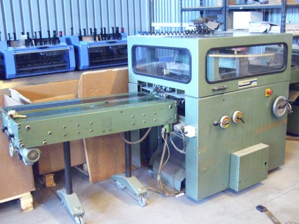 SADDLE STITCHER 1509 Muller Martini