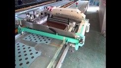 flat bed automatic screen printing machine