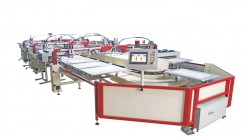 oval fully automatic screen printing machine